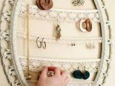 """Résultat de recherche d'images pour """"ranger bijoux astuces"""""""