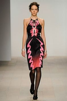 Holly Fulton, London Fashion Week, Catwalk