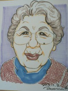 2013/12 satsue, grandmother