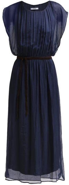 Pin for Later: 50 Kleider für alle Gäste einer Hochzeit im Sommer  Liu Jo dunkelblaues Kleid (140 €)