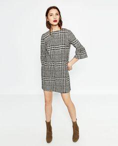 PRINTED MINI DRESS-DRESSES-WOMAN   ZARA United States