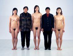 Sigurður Guðmundsson, Five women, 200 cm/ 175 cm (2005)