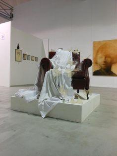 """""""Aleggia il ricordo"""" Paratissima, Salone delle esposizioni, Torino"""