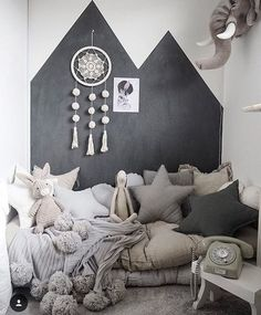 pinterest: rayray0033 // mommo design: READING NOOKS