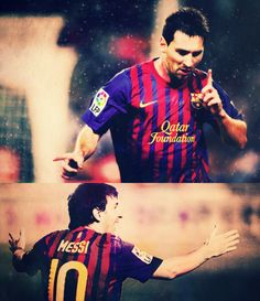 Messi is the man!
