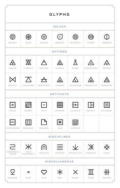 Geometric tattoo inspiration