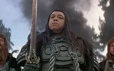 Enjoyed this movie on its own merits, but James Earl Jones is the BEST bad guy of all time, whether the voice of Darth Vader, or Thulsa Doom himself from Conan the Barbarian.