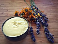 How to make Calendula Cream, a natural homemade recipe with herbal healing benefits. It can also be used as an all purpose body butter or lotion.