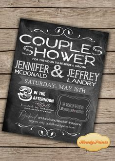 - Considering Couples Wedding Shower Ideas for Perfect Theme- A bad judgment was for wedding shower because women complain the food, the games and the concept of this event. It should be joyful because it is the . Rustic Wedding, Our Wedding, Wedding Decor, Wedding Vintage, Wedding Ideas, Wedding Games, Wedding Things, Couples Wedding Shower Invitations, Wedding Couples