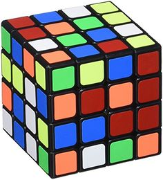 (Owned - qj, yuxin blue) MoYu Aosu New Structure Speed Cube, Black, 4 x 4 MoYu