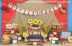 Western Theme KIndergarten Graduation Party   CatchMyParty.com
