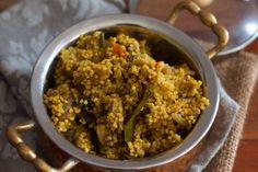 Barnyard Millet Mushroom Biriyani Recipe