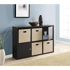 Essential Home Camden 6 Cube Storage Unit | Kmart $109.99 | One Star Bad  Review 45.9