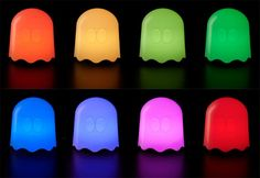 pac man ghost lamp 2 | Table Lamp Pac Man Christmas gift