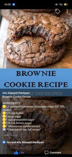 Brownie Cookie Recipe - .