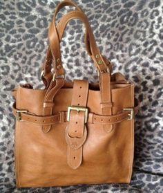 bafb1ebab9 Mulberry Elgin bag in Oak natural vegetable tan(NVT) leather.Brand New!  Genuine