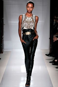 Olivier Rousteing for Balmain | Rock and chic with Elvis and Vegas