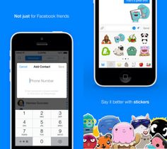 Facebook Messenger Adds Contact Via Phone Number To Fight Competition - http://www.gearfuse.com/facebook-messenger-adds-contact-via-phone-number-to-fight-competition/