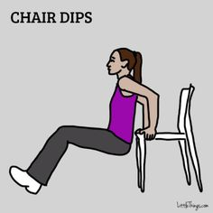 easy exercises to get rid of arm flab