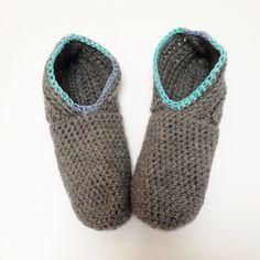 Free crochet pattern slipper 1