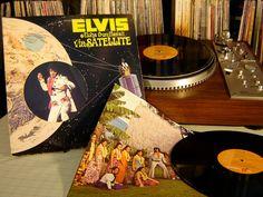 Elvis Presley - Aloha From Hawaii Via Satellite Live 2LP Set - 1973 - RCA Records VPSX 6089 - Vintage Vinyl LP Record Album. $14.00, via Etsy.