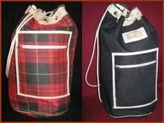 Duffel bags - mine's on the left