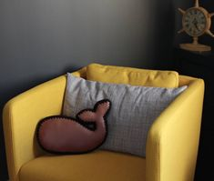 Pillow Keepsake Nursery Decor by JoyfulHouseDesigns Couch Pillows, Throw Pillows, Whale Pillow, Tub Chair, Nursery Decor, Bean Bag Chair, Living Room Decor, Accent Chairs, Etsy Seller