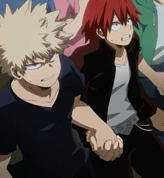 See where Katsuki Bakugou x Eijiro Kirishima, Shoto Todoroki x Izuku Midoriya, and Katsuki Bakugou x Izuku Midoriya ranked in our list. Join thousands of other voters and place your votes for the Top 10 Boku No Hero Academia Ships. Boku No Hero Academia, My Hero Academia Memes, Hero Academia Characters, My Hero Academia Manga, All Out Anime, Anime Guys, Comic Anime, Manga Anime, Deku Anime