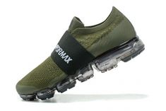 fbe38c853cdab6 Best Quality Nike Air VaporMax Moc 2018 Olive Green Black New Arrival Nike  Air Vapormax