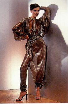 Bill Gibb Pant Suit 1970s