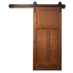 Make a statement with the wagon wheel sliding door hardware. The wagon wheel style is ideal for rustic and transitional homes and comes in a rich oil-rubbed bro