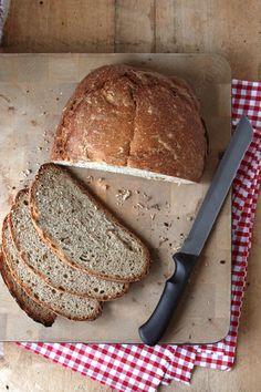 recette facile de pain a la machine a pain pain aux cereales all bran 0001 LE MIAM MIAM BLOG