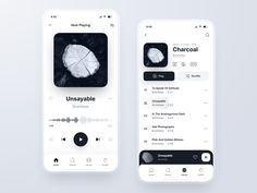 Egloo by Cosmin Capitanu on Dribbble Web Design, Best App Design, App Ui Design, Smart Design, Android Design, Android Ui, Gnu Linux, Music App, Music Songs
