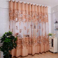 Новый тюль в просвечивающие занавес окна жаккард вышитые volie занавески для гостиной спальни панеликупить в магазине HL Home textileнаAliExpress