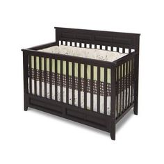 Convertible Baby Crib Nursery Furniture Bedding Cribs Toddler Bed All In One