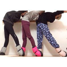 Lena Jade Vivi and friends in their Bloch Booties
