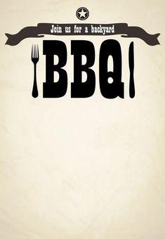 Free BBQ Party Invitation Templates