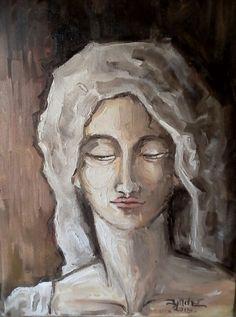 Oil on canvas Oil On Canvas, Workshop, Painting, Art, Atelier, Painted Canvas, Painting Art, Paintings, Kunst