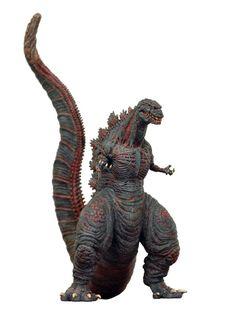 Godzilla.......... Godzilla Resurgence, Godzilla Figures, Giant Monster Movies, Toys In The Attic, Superman Wonder Woman, Horror Monsters, Monster Art, King Kong, Horror Art