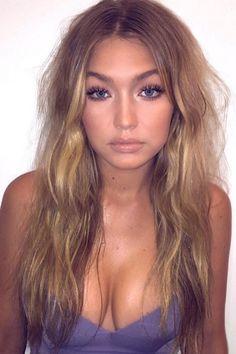 Gigi Hadid foundation beauty look