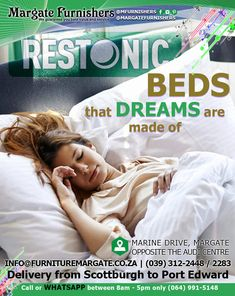 Your dream Restonic bed - Margate Furnishers