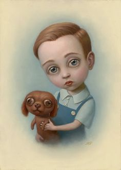 Pencils and Fireflies: Hail to The King and Queen: Amazing Art by Mark Ryden and Marion Peck Mark Ryden, Art Pop, Illustrations, Illustration Art, Marion Peck, Arte Lowbrow, Arte Dachshund, Wow Art, Art Graphique