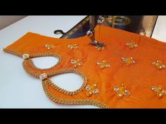 New model blouse gala back neck design cutting and stitching/blouse designs - YouTube