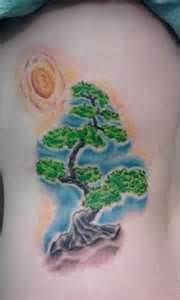 Bonsai Tattoos and images for Bonsai lovers! Bonsai Tree Tattoos, Japanese Bonsai Tree, Maple Bonsai, Watercolor Tattoo, Body Art, Bonsai Trees, Image, Shirts, Style