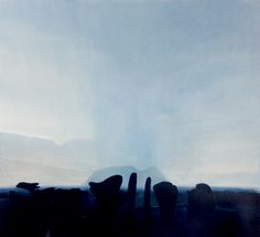Elephant Rain. oil painting.