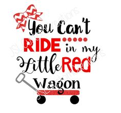 A personal favorite from my Etsy shop https://www.etsy.com/listing/464550927/little-red-wagon-svg-country-music