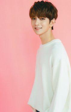 pink and joshua :)) Jeonghan, Wonwoo, Woozi, Seungkwan, Joshua Seventeen, Seventeen Debut, Chris Brown, Eminem, K Pop