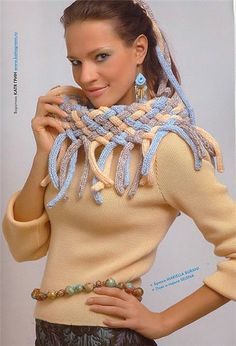 unique gifts: cute scarf, free crochet patterns | make handmade, crochet, craft