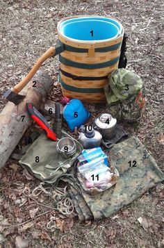 Make a Pack Basket for Camping | DIY Projects And Camping Tips by Survival Life at  http://survivallife.com/2016/01/31/make-a-pack-basket-for-camping/