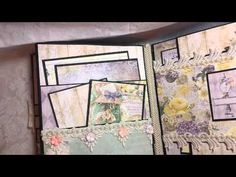 Deja Vu 8x10 Mini Album for Tresors de Luxe - YouTube
